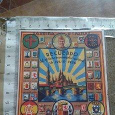 Postales: POSTAL GUERRA CIVIL RECUERDO DEL GLORIOSO MOVIMIENTO NACIONAL 19 JULIO 1936. Lote 112292847