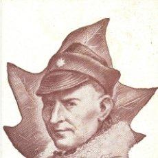 Postales: RANDOLFO PACCIARDI BATALLON GARIBALDI JEFE XII BRIGADA INTERNACIONAL GUERRA CIVIL. Lote 113096019