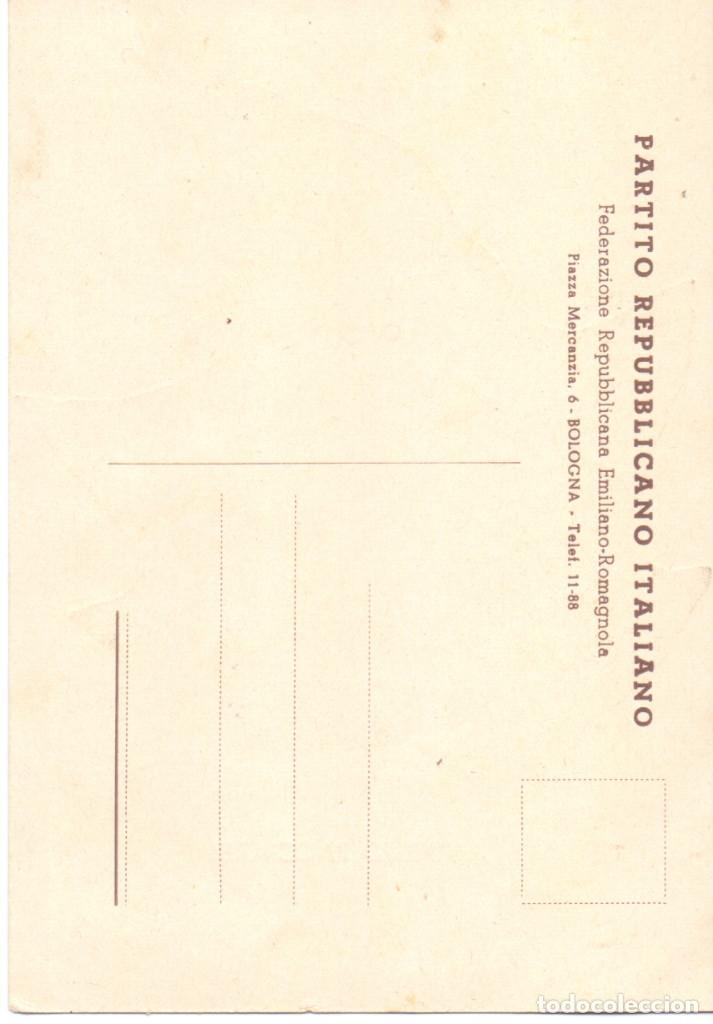 Postales: RANDOLFO PACCIARDI BATALLON GARIBALDI JEFE XII BRIGADA INTERNACIONAL GUERRA CIVIL - Foto 2 - 113096019