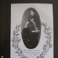 Postales: POSTAL ANTIGUA-CALVO SOTELO ASESINADO 13 JULIO 1936-PRE GUERRA CIVIL -VER FOTOS - (52.130). Lote 113521331