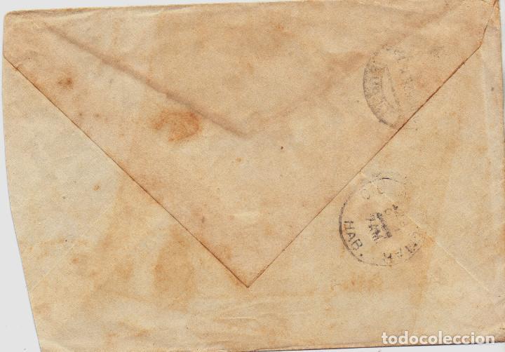 Postales: RARO SOBRE DESTINO HABANA(CUBA) MATASELLOS CUARTEL GENERAL GENERALISIMO FRANCO GUERRA CIVIL - Foto 2 - 113652819