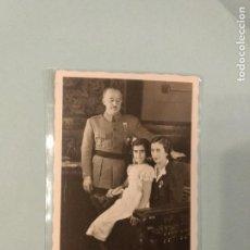 Postales: POSTAL FOTOGRÁFICA GENERAL FRANCO Y SU FAMILIA. EDICIÓN ALEMANA. SIN CIRCULAR. Lote 115679355