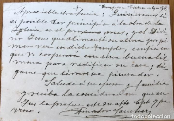 Postales: Tarjeta postal patriótica ¡Viva España! ¡Viva Franco! - Barromán (Avila) - Foto 2 - 116365031