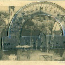 Postales: ARAGON ZARAGOZA BELCHITE CONSTRUCCION NUEVO PUEBLO. PRISIONEROS CATALANES 1941. FOTOGRÁFICA MUY RARA. Lote 116903587