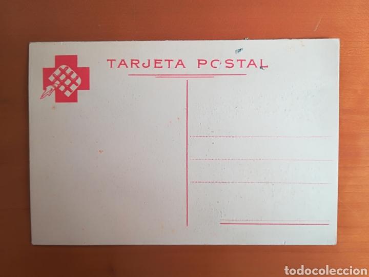 Postales: Postal antifascista Socorro Rojo Internacional SRI ¡Entrega tu donativo! - Ilustrador YES - Foto 3 - 117243998