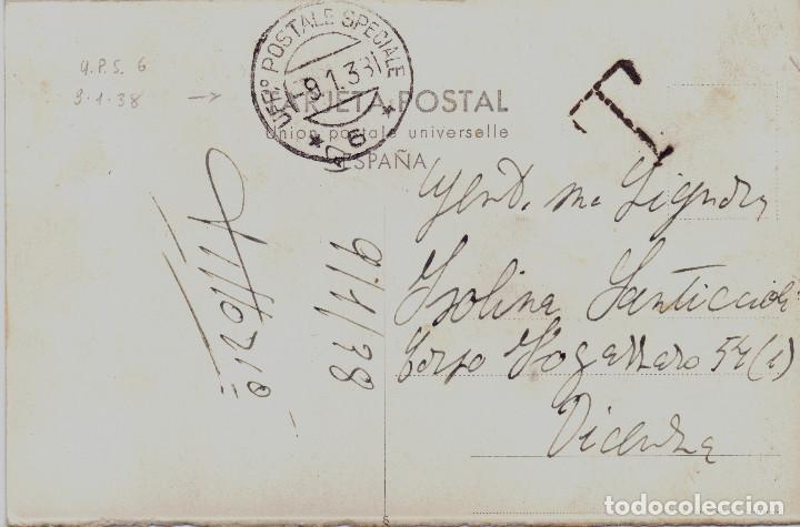Postales: POSTAL TERUEL EN PLENA BATALLA ENERO 1938 CTV UFFICIO POSTALE SPECIALE GUERRA CIVIL - Foto 2 - 117303099
