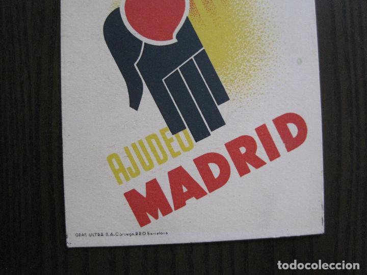 Postales: POSTAL GUERRA CIVIL- PER LA LLIBERTAT DE CATALUNYA AJUDEU MADRID -VER FOTOS -(52.615) - Foto 3 - 117935739