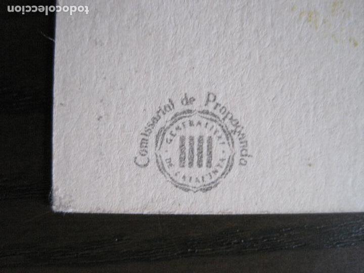 Postales: POSTAL GUERRA CIVIL- PER LA LLIBERTAT DE CATALUNYA AJUDEU MADRID -VER FOTOS -(52.615) - Foto 5 - 117935739