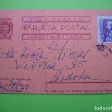 Postales: POSTAL CIRCULADA CENSURA MILITAR GUERRA CIVIL. CORDOBA. Lote 120199699