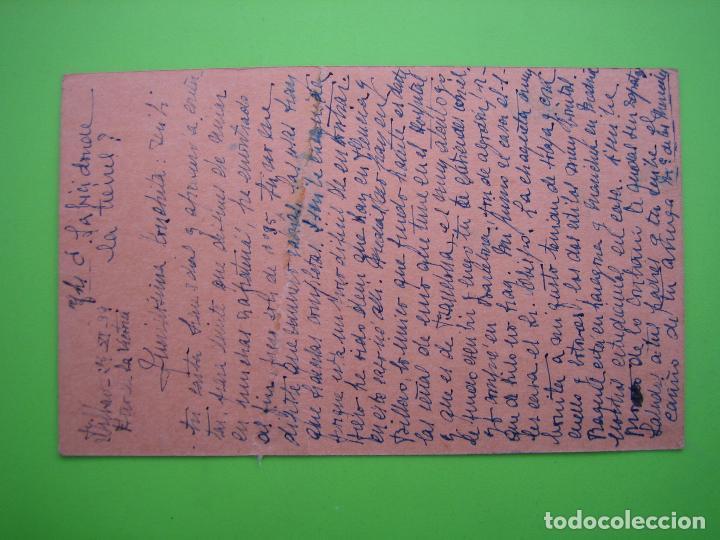 Postales: Postal circulada censura militar guerra civil. Cordoba - Foto 2 - 120199699
