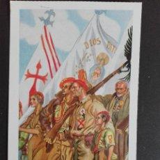 Postales: LA FALANGE ESPAÑOLA EDICIONES ANTALBE. Lote 122244563