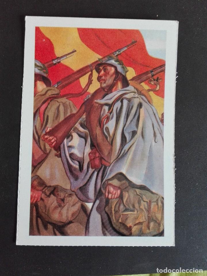 DESFILE NACIONALISTA EDICIONES ANTALBE (Postales - Postales Temáticas - Guerra Civil Española)