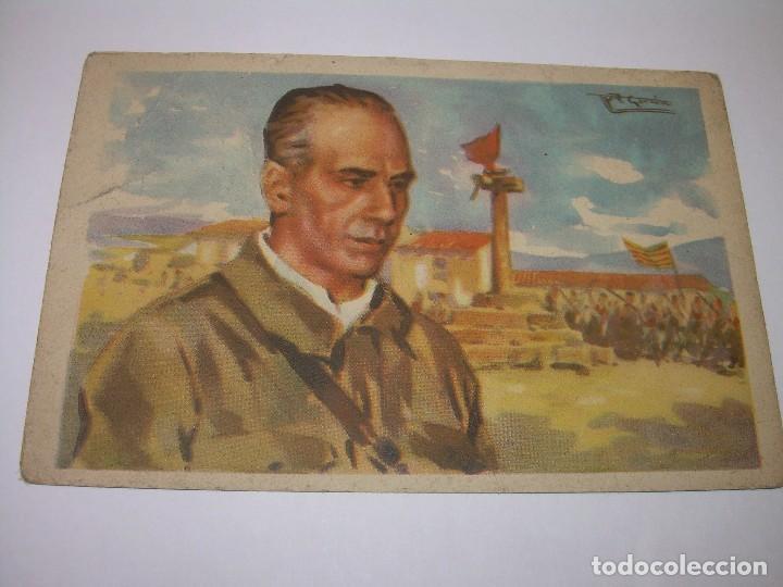 ANTIGUA POSTAL.GENERAL VILLALBA. (Postales - Postales Temáticas - Guerra Civil Española)