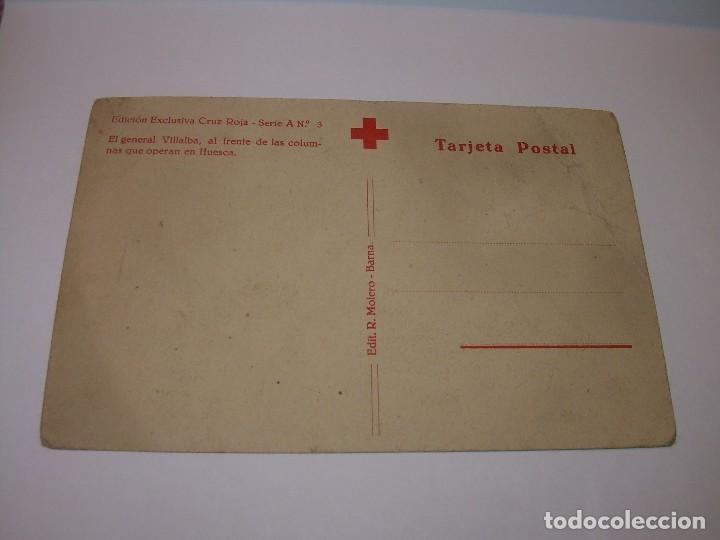 Postales: ANTIGUA POSTAL.GENERAL VILLALBA. - Foto 2 - 126155555
