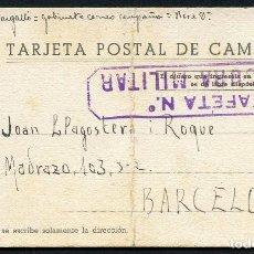 Postales: GUERRA CIVIL, TARJETA POSTAL CAMPAÑA, 1938. Lote 126401955