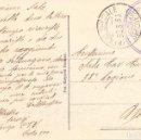 Postales: RARISIMA POSTAL CON MATASELLO CTV DEL UFFICIO SPECIALE INTENDENCIA POSTA 500 ITALIA GUERRA CIVIL. Lote 126756323