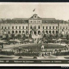 Postales: REPÚBLICA ESPAÑOLA, GUERRA CIVIL, TARJETA POSTAL, PARLAMENTO DE CATALUÑA. Lote 126814679