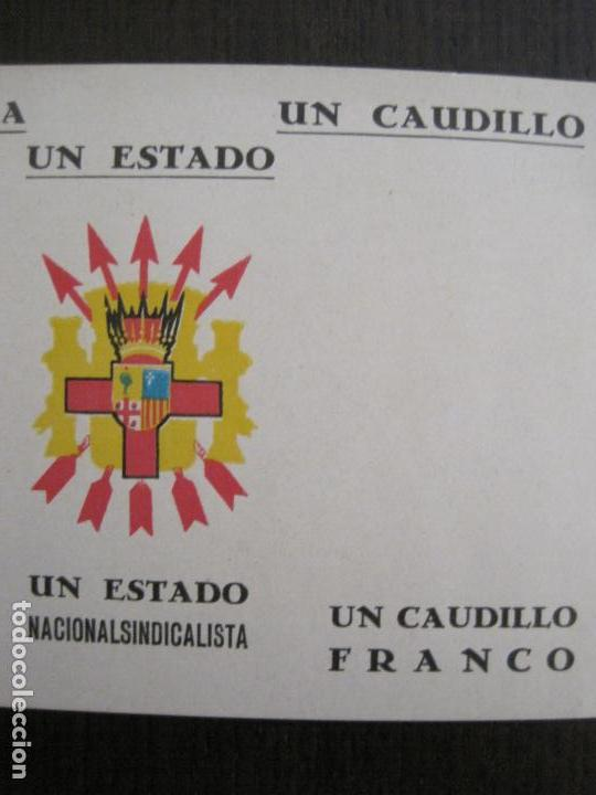 Postales: GUERRA CIVIL - TARJETA POSTAL DOBLE - VIVA ESPAÑA -ARAGON-UNA PATRIA UN ESTADO -VER FOTOS-(53.109) - Foto 7 - 127252771