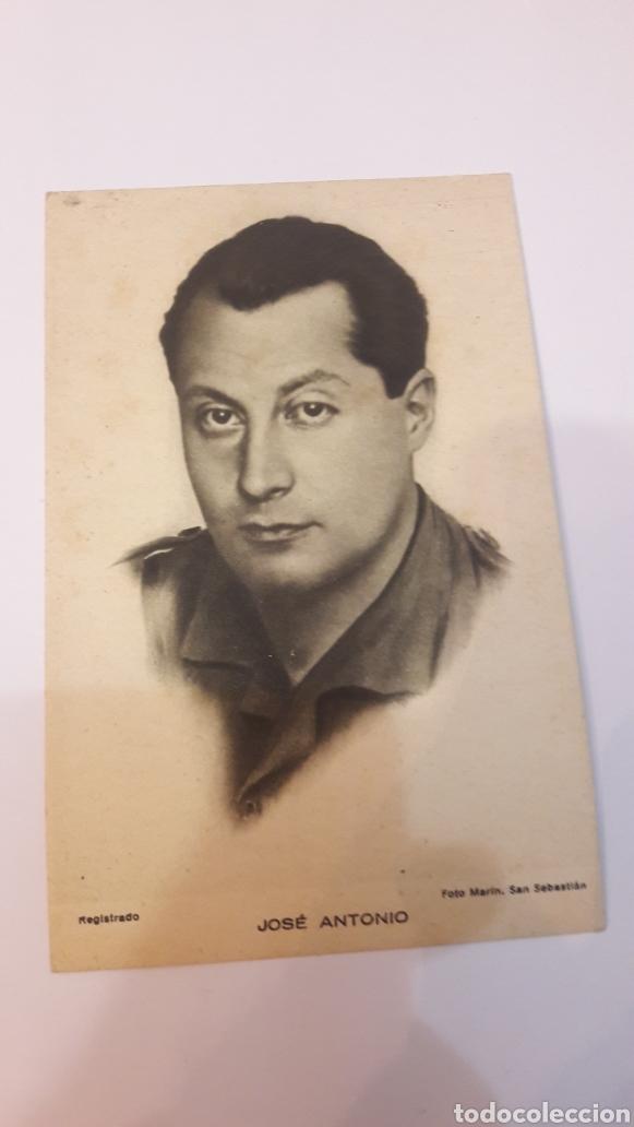 ARTE BILBAO POSTAL JOSÉ ANTONIO FOTO MARÍN SAN SEBASTIAN TENGO MÁS IGUALES (Postales - Postales Temáticas - Guerra Civil Española)