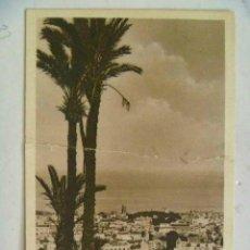 Postales: POSTAL DE TENERIFE , CIRCULADA DESDE SANTA CRUZ A SEVILLA . CENSURA MILITAR. SELLOS CID. 1939.. Lote 128144535