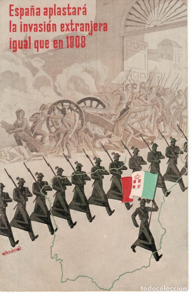 POSTAL JUNTA DELEGADA DE DEFENSA DE MADRID. SIN CIRCULAR. ALLEPUZ 157 RR (Postales - Postales Temáticas - Guerra Civil Española)