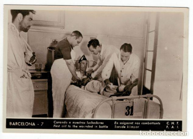 POSTAL CNT – FAI. SIN CIRCULAR. ALLEPUZ 421 RRR (Postales - Postales Temáticas - Guerra Civil Española)