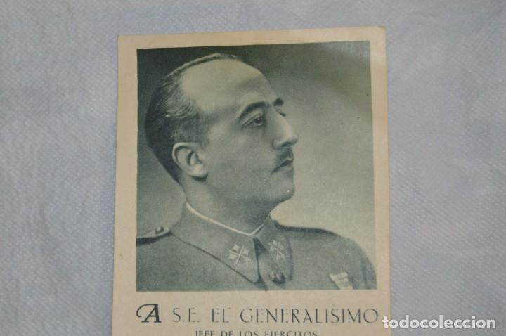 Postales: RARÍSIMA POSTAL GUERRA CIVIL - FELICITACIÓN NAVIDAD 1938 GENERALÍSIMO FRANCO - ENVÍO 24H - Foto 2 - 132362834