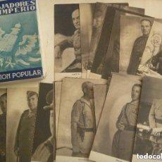 Postcards - COLECCION DE POSTALES FORJADORES DEL IMPERIO. 30 POSTALES, COMPLETA EN CARPETILLA. - 132777770