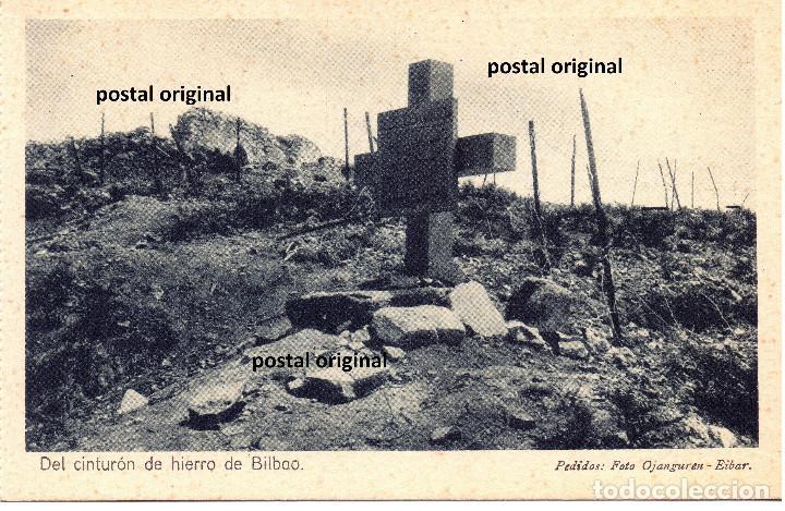 TUMBA SOLDADOS LEGION CONDOR MONTE BIZCARGUI (CINTURON BILBAO) FRENTE NORTE GUERRA CIVIL (Postales - Postales Temáticas - Guerra Civil Española)