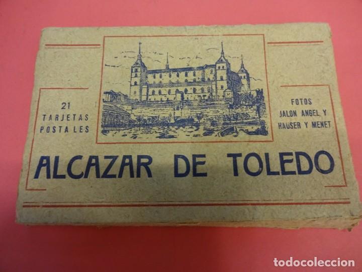 Postales: ALCAZAR DE TOLEDO. Estuche 21 postales Fotos JALON ANGEL y HAUSER y MENET - Foto 2 - 135489042