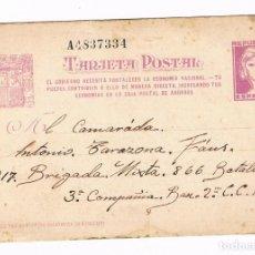 Postales: 217 BRIGADA MIXTA GUERRA CIVIL 1938 TARJETA POSTAL. Lote 135815806
