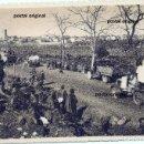 Postales: RARA POSTAL REFUGIADOS EJERCITO POPULAR REPUBLICANO ARGELES (FRANCIA) LA DEPECHE GUERRA CIVIL. Lote 136200146
