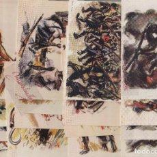 Postales: ESPAÑA-ESTAMPAS DE LA REVOLUCION ANTIFASCISTA SERIE COMPLETA 16 POSTALES/POSTAL ¡¡REEDITADAS 1986¡¡. Lote 147217612