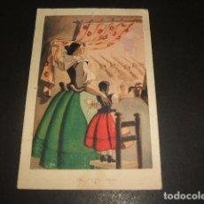 Postales: POSTAL GUERRA CIVIL VOLVERAN BANDERAS VICTORIOSAS 1938 CENSURA MILITAR CORELLA NAVARRA Y SAN SEBASTI. Lote 139322002