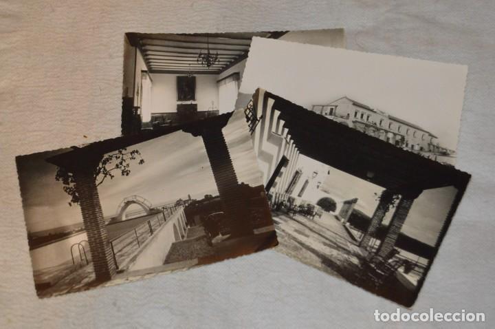 LOTE DE 4 ANTIGUAS POSTALES - MARBELLA, ESCUELA DE MANDOS MENORES SAN FRANCISCO, FALANGE - ENVÍO 24H (Postales - Postales Temáticas - Guerra Civil Española)