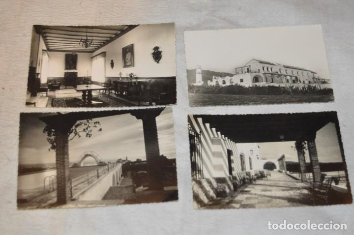 Postales: LOTE DE 4 ANTIGUAS POSTALES - MARBELLA, ESCUELA DE MANDOS MENORES SAN FRANCISCO, FALANGE - ENVÍO 24H - Foto 2 - 139349490