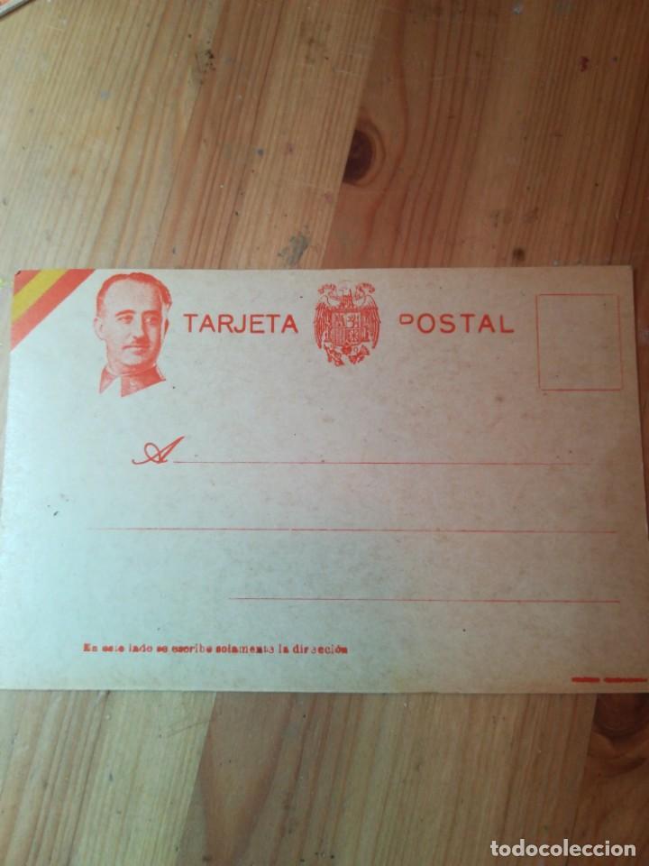 POSTAL MILITAR FRANCO. GUERRA CIVIL ESPAÑOLA (Postales - Postales Temáticas - Guerra Civil Española)