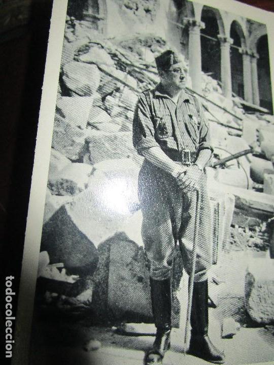 ALBUM ANTIGUO 11 POSTALES ALCAZAR TOLEDO BOMBARDEADO FRANCO MOSCARDO SALAS (Postales - Postales Temáticas - Guerra Civil Española)