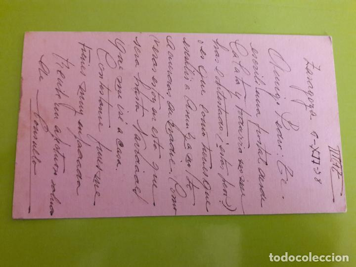 Postales: POSTAL GUERRA CIVIL FRANQUISTA CENSURA MILITAR ZARAGOZA - Foto 2 - 146950178