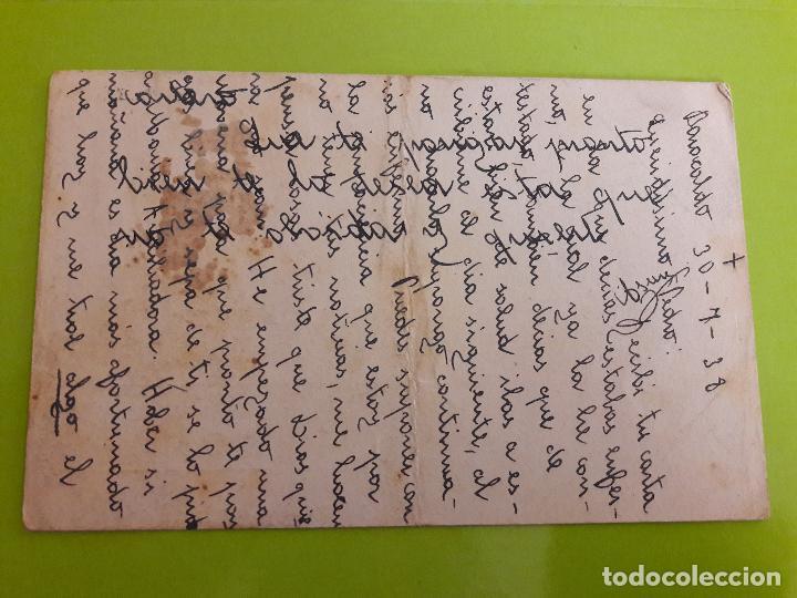 Postales: POSTAL GUERRA CIVIL FRANQUISTA CENSURA MILITAR BILBAO - Foto 2 - 146950890