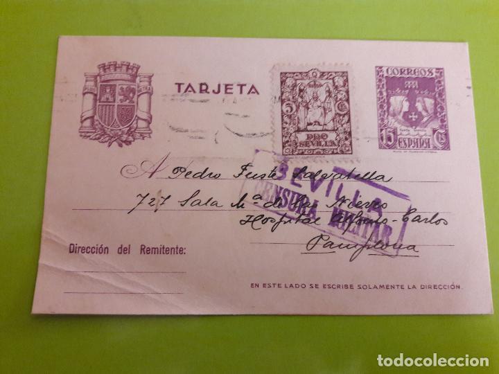 POSTAL GUERRA CIVIL FRANQUISTA CENSURA MILITAR SEVILLA (Postales - Postales Temáticas - Guerra Civil Española)