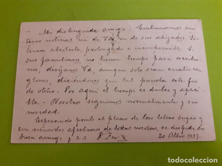 Postales: POSTAL GUERRA CIVIL CENSURA MILITAR REPUBLICA ESPAÑOLA - Foto 2 - 146955474