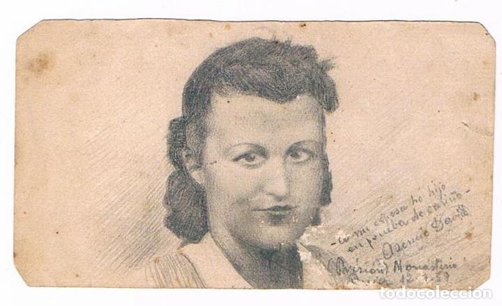PRISIÓN MONASTERIO 1937 - GUERRA CIVIL (Postales - Postales Temáticas - Guerra Civil Española)