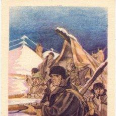 Postales: POSTAL NACIONALISTA Nº2 ALERTA ESTA ARTES GRAFICAS TOLOSA GUERRA CIVIL. Lote 147965138