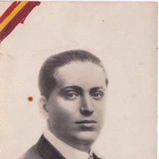 Postales: POSTAL DE JOSE CALVO SOTELO COBARDEMENTE ASESINADO EL 13 DE JULIO DE 1936. Lote 148048314