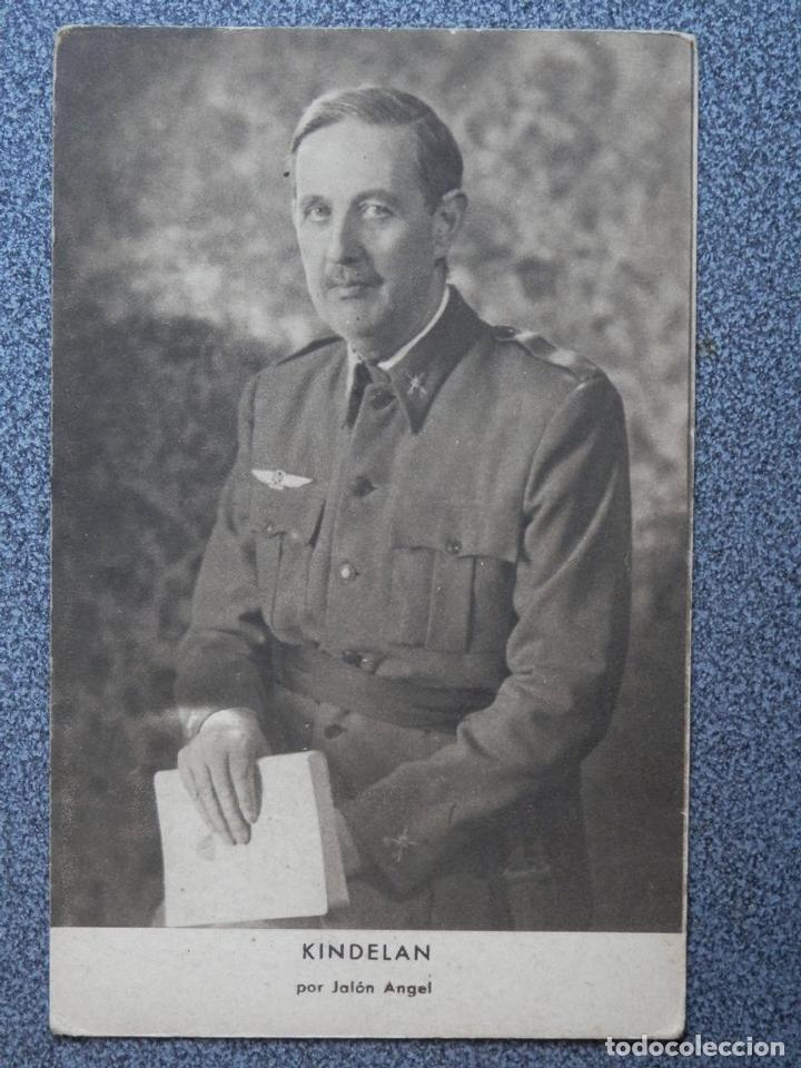 GUERRA CIVIL KINDELAN POR JALÓN ANGEL POSTAL ANTIGUA (Postales - Postales Temáticas - Guerra Civil Española)