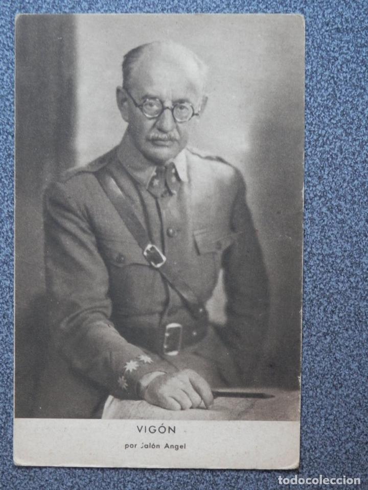 GUERRA CIVIL VIGÓN POR JALÓN ANGEL POSTAL ANTIGUA (Postales - Postales Temáticas - Guerra Civil Española)