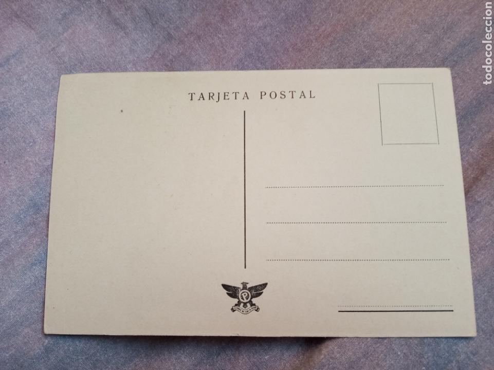 Postales: Postal guerra civil Francisco Franco.falange.franquista.militar.ejercito.requete.carlista.falangista - Foto 2 - 151709749