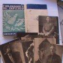Postales: COLECCION DE POSTALES FORJADORES DEL IMPERIO. 30 POSTALES, COMPLETA EN CARPETILLA. Lote 153254610