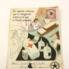 Postcards - TARJETA POSTAL DE CAMPAÑA COMISARIADO GENERAL DE GUERRA BASE TURIA 1938 GUERRA CIVIL - 154028218